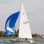 Buccaneer 18 sailing downwind