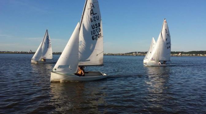 Summer is Wednesday Night Sailing Season!